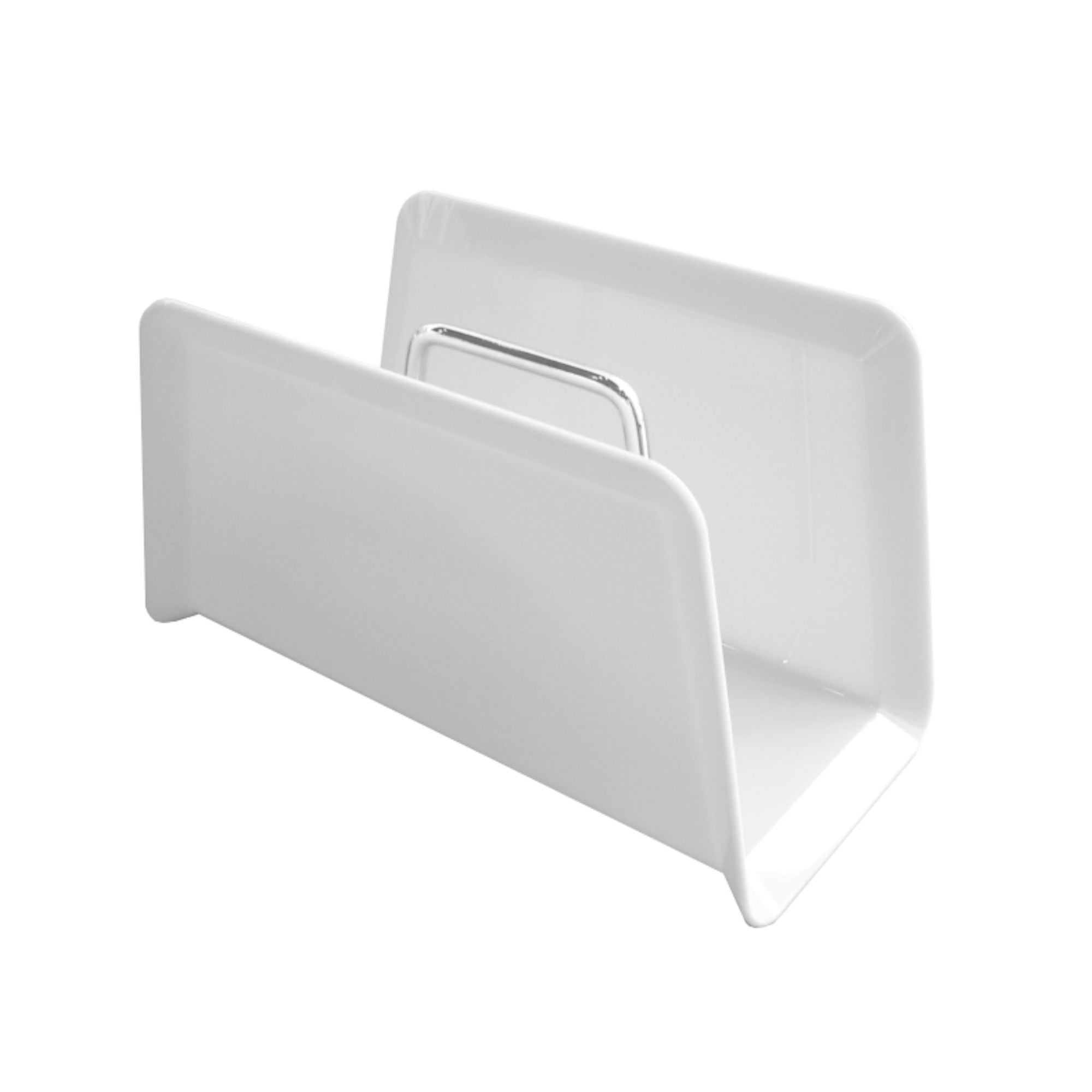 Studio Domo Maggy magazine rack, white