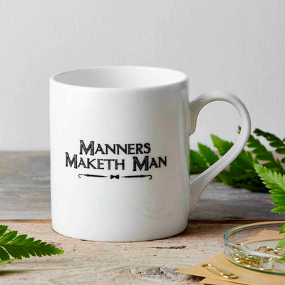 Chase & Wonder Manners Maketh Man Fine China Mug