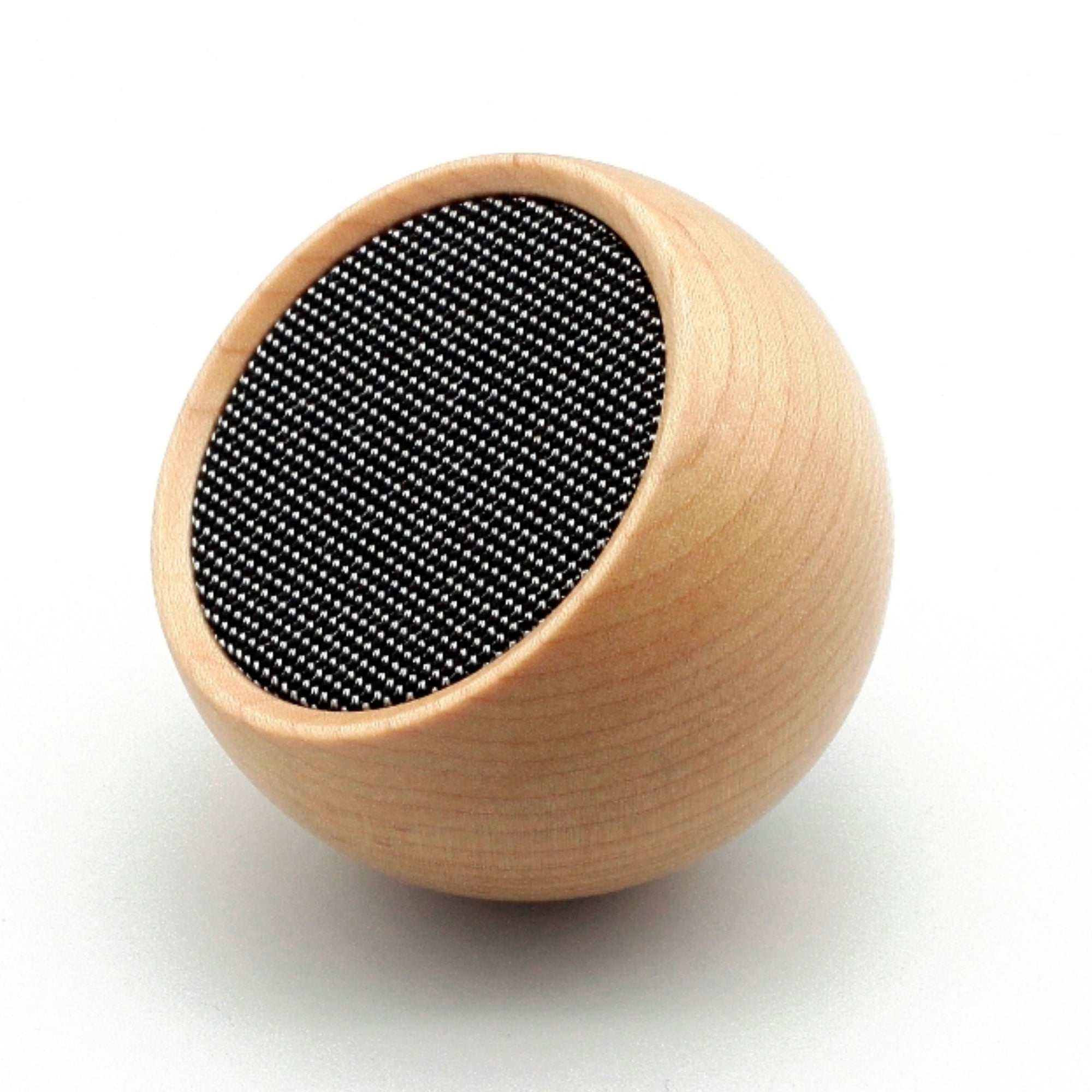 Gingko Tumbler speaker + shutter, maple