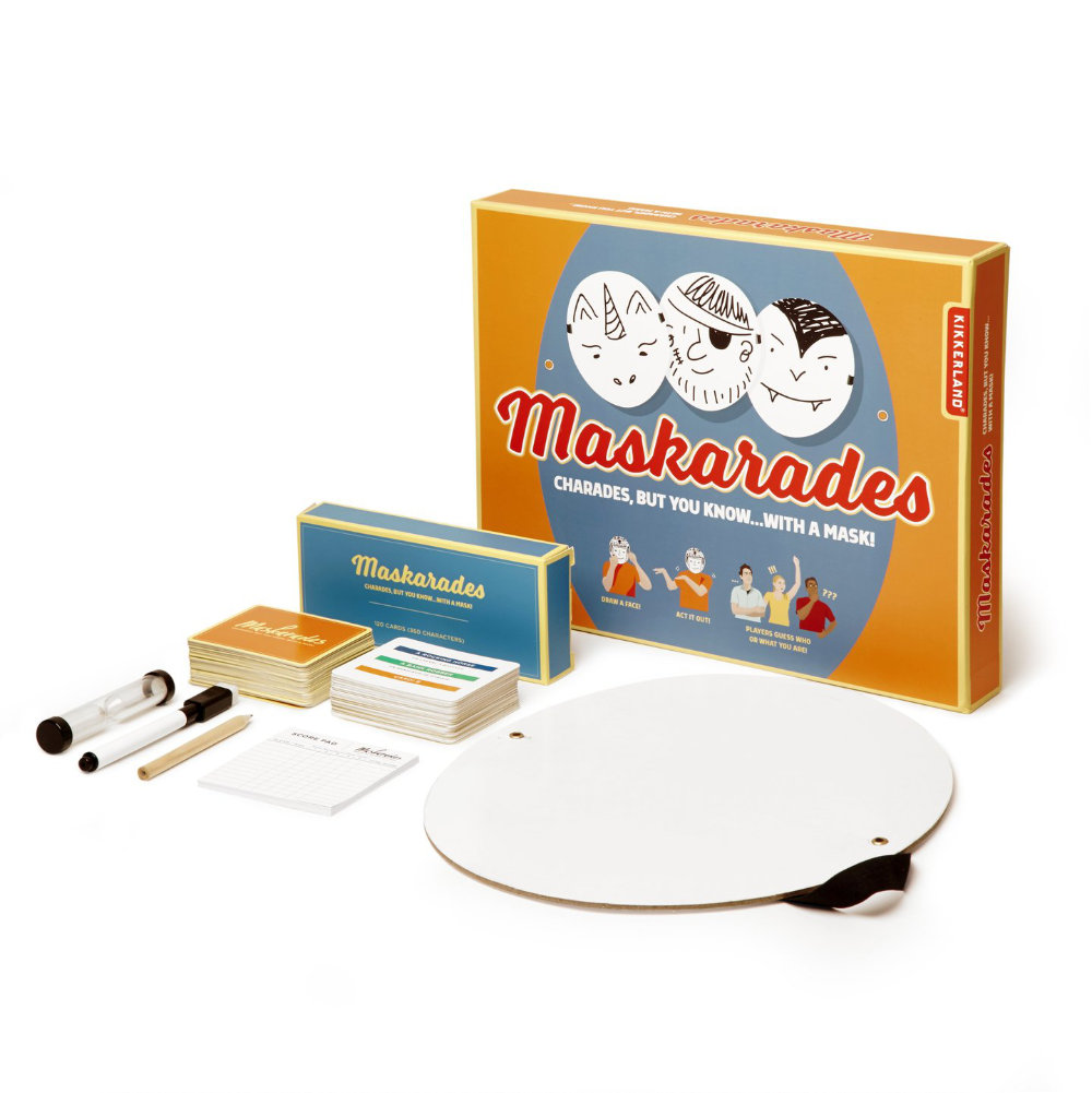 Kikkerland Maskarades Party Game