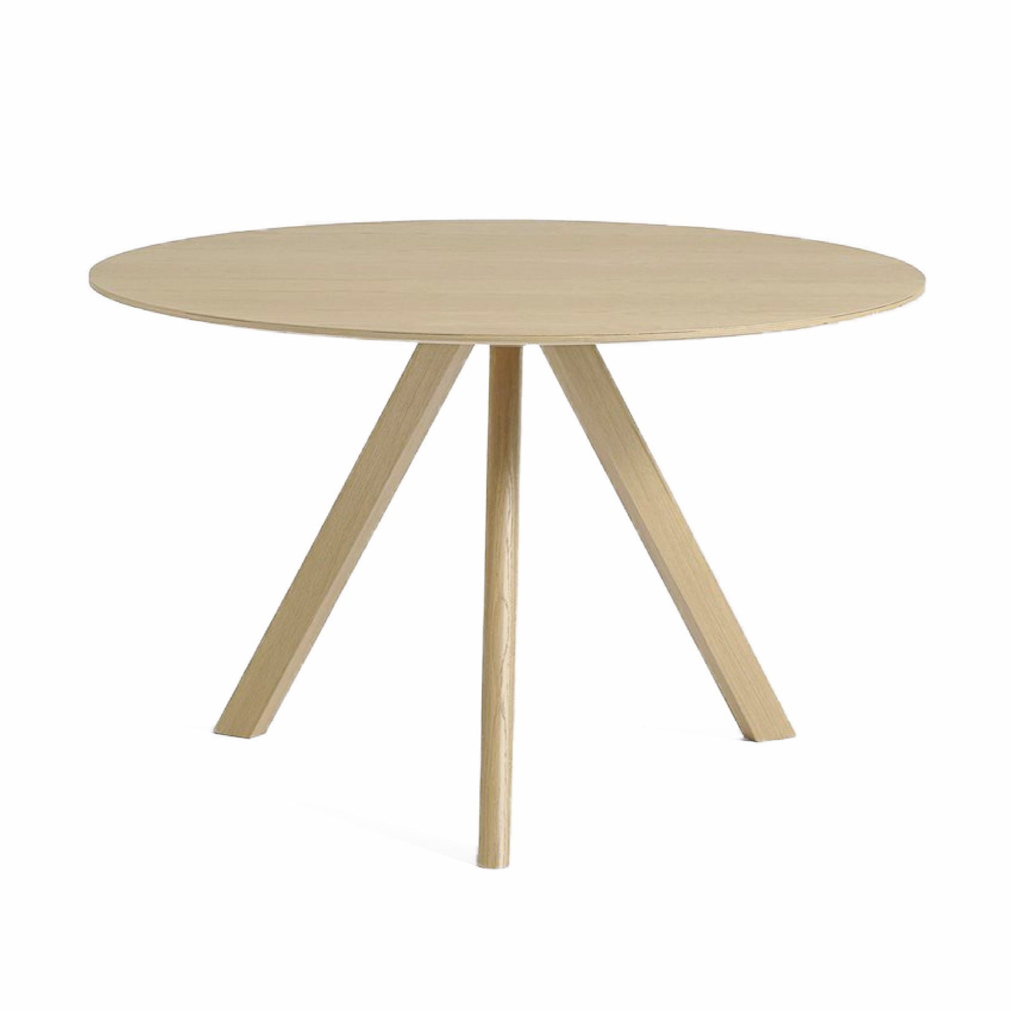 HAY CPH20 Round Table Ø120 , Matt Lacquered Oak