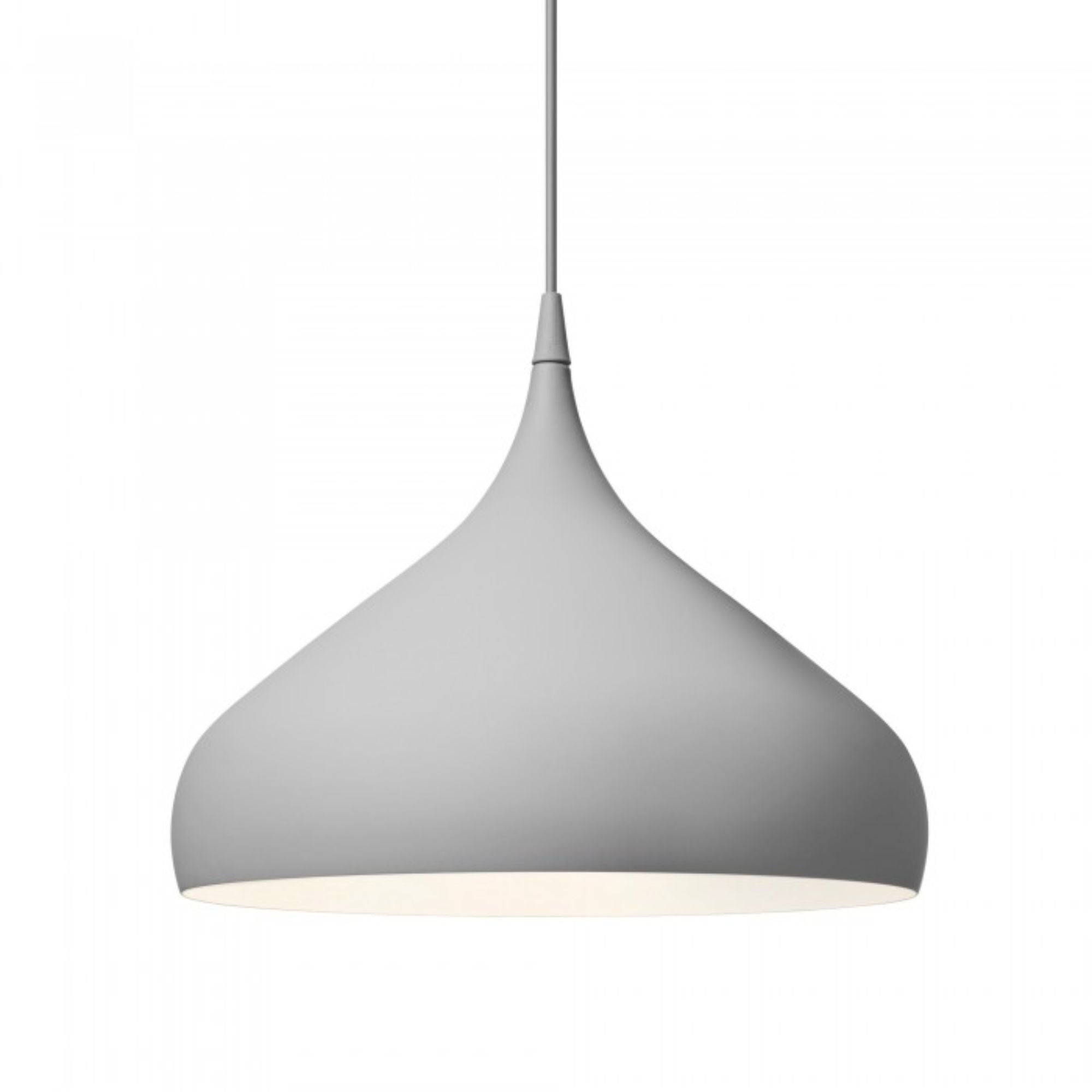 &Tradition BH2 Spinning pendant lamp, matt dark grey