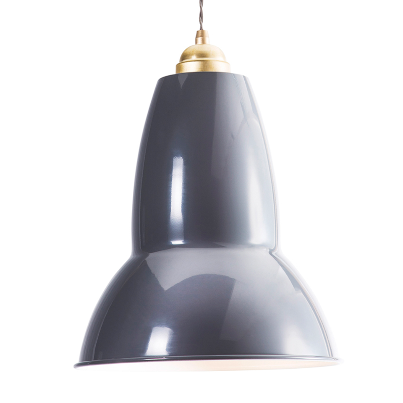 Anglepoise Original 1227 Brass Maxi Pendant Light