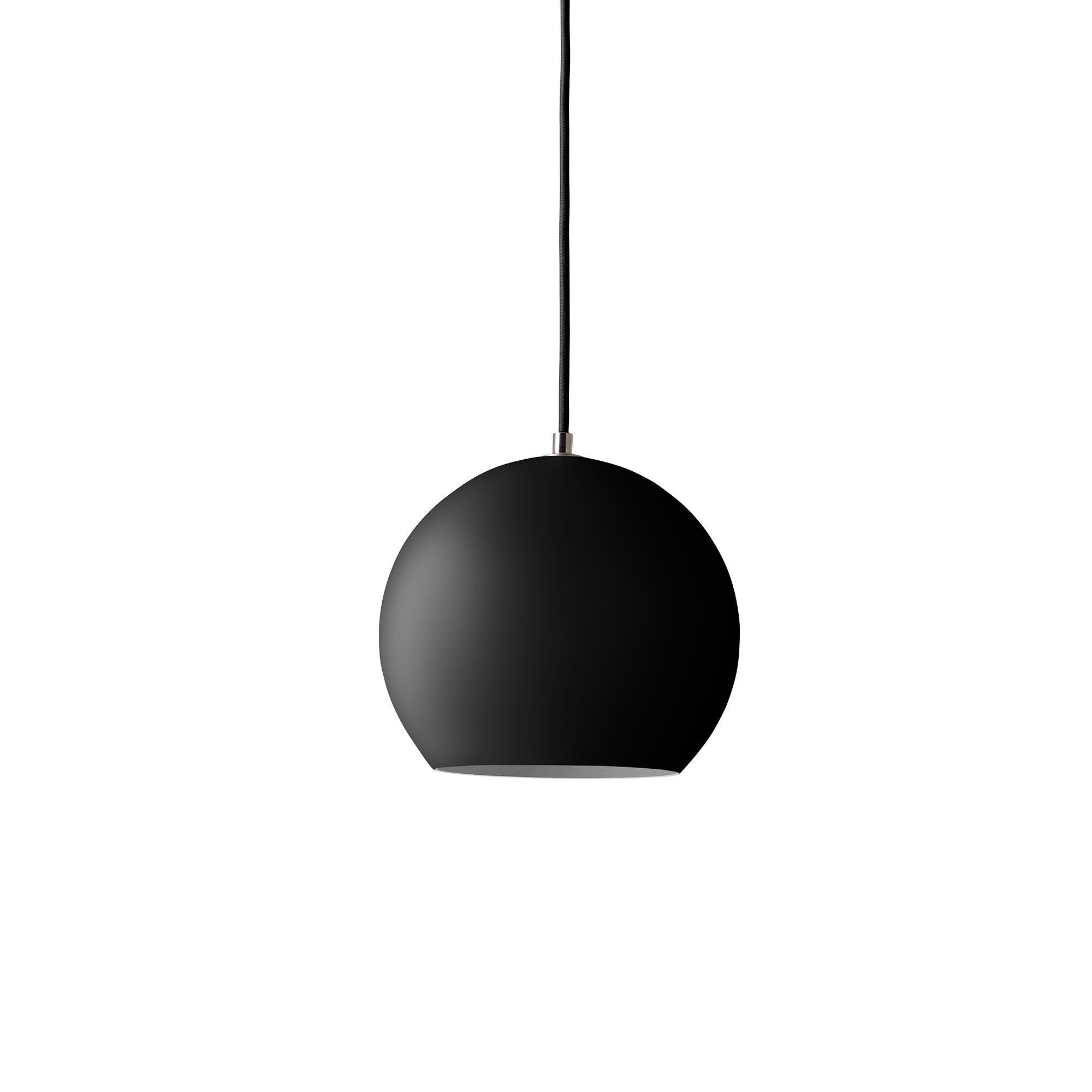&Tradition VP6 Topan pendant lamp, matt black