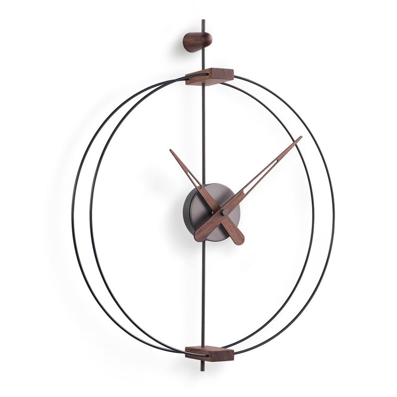 Nomon Micro Barcelona Graphite Wall Clock