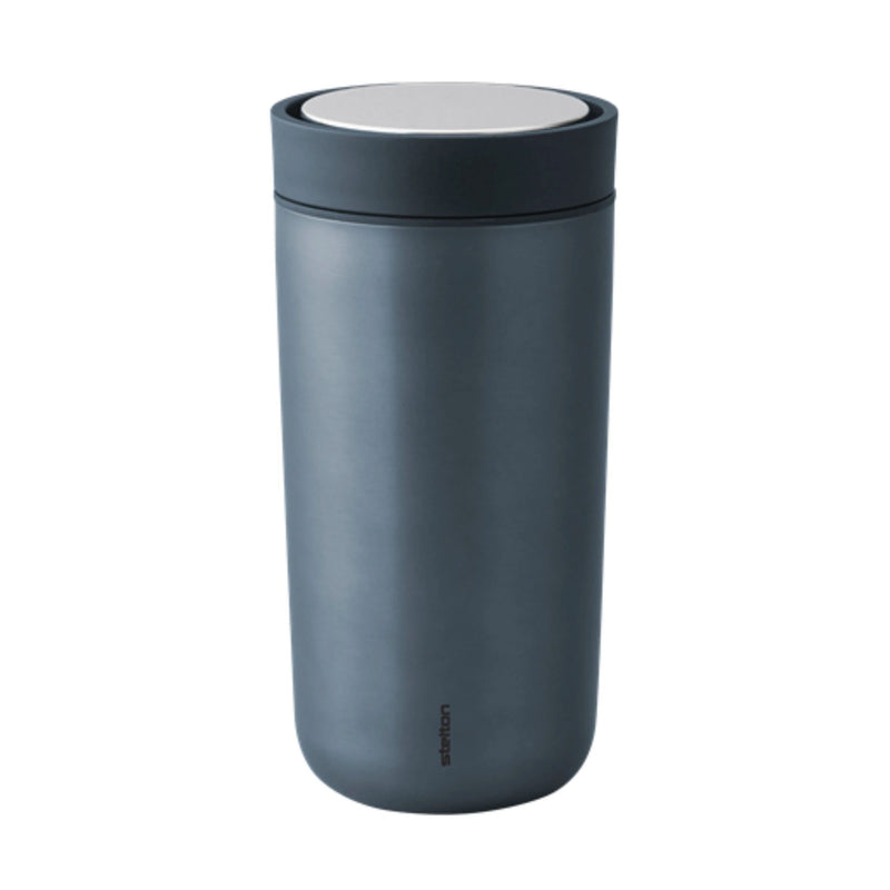 Stelton To Go Click Mug 200ml , Metallic Blue