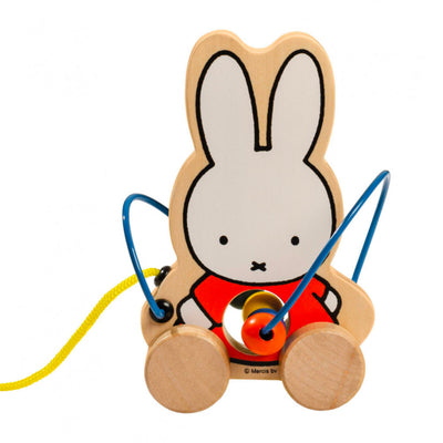Miffy Wooden Pull Toy