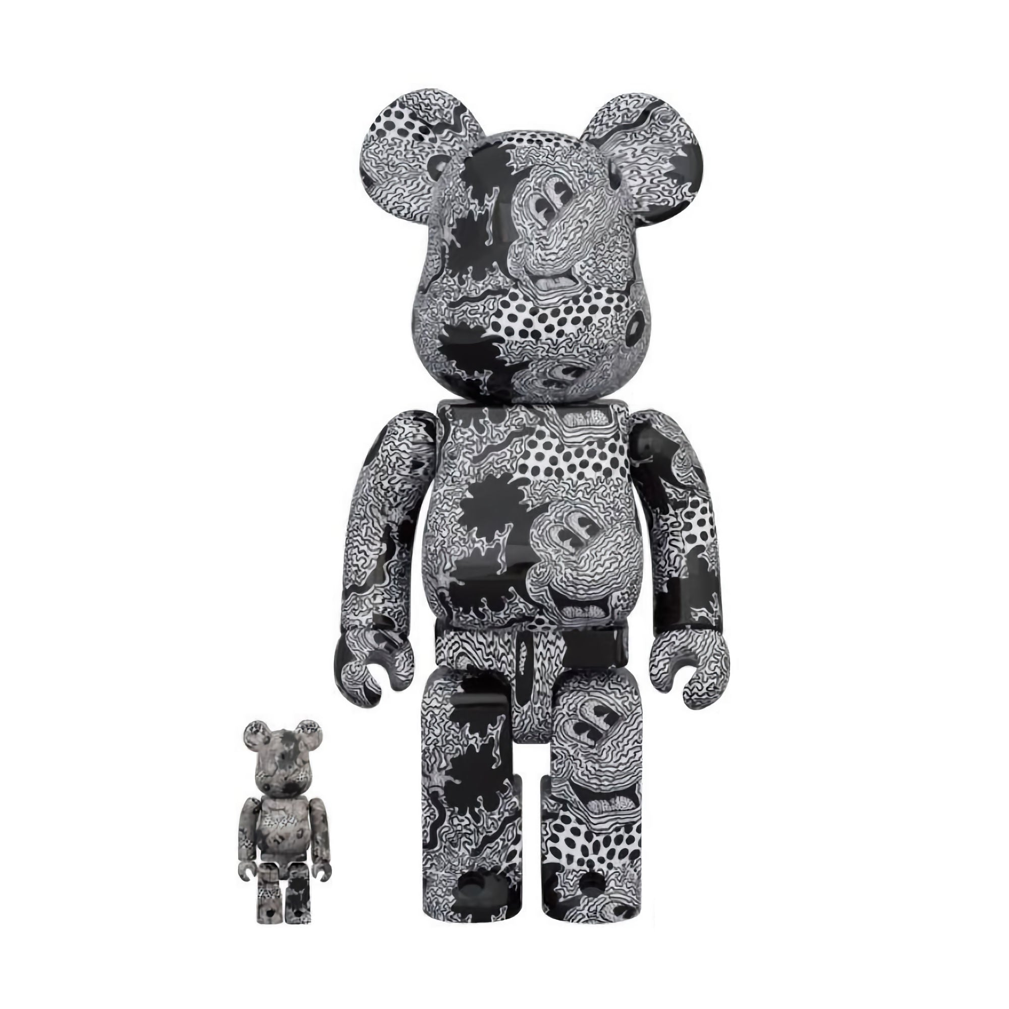 BE@RBRICK Keith Haring Disney Mickey Mouse 100% & 400%