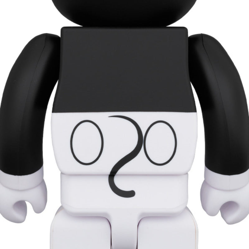 BE@RBRICK Mickey Mouse B&W 2020 Ver. 1000%