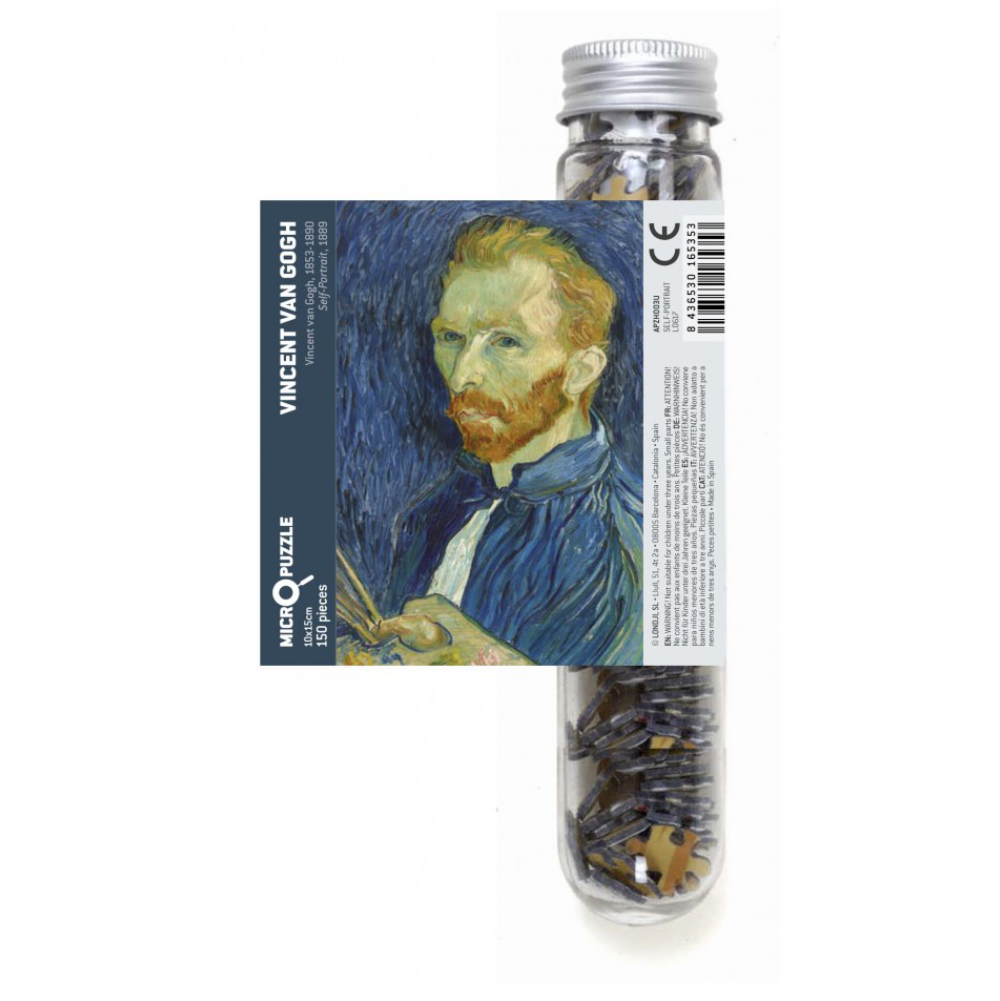 Londji Micro Puzzle Self-Portrait by Van Gogh 150pcs