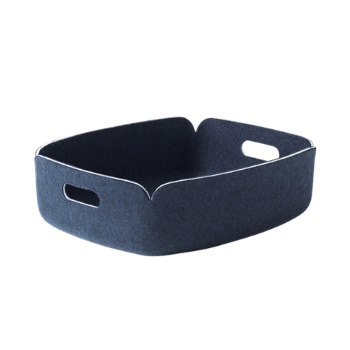 Muuto Restore tray, midnight blue