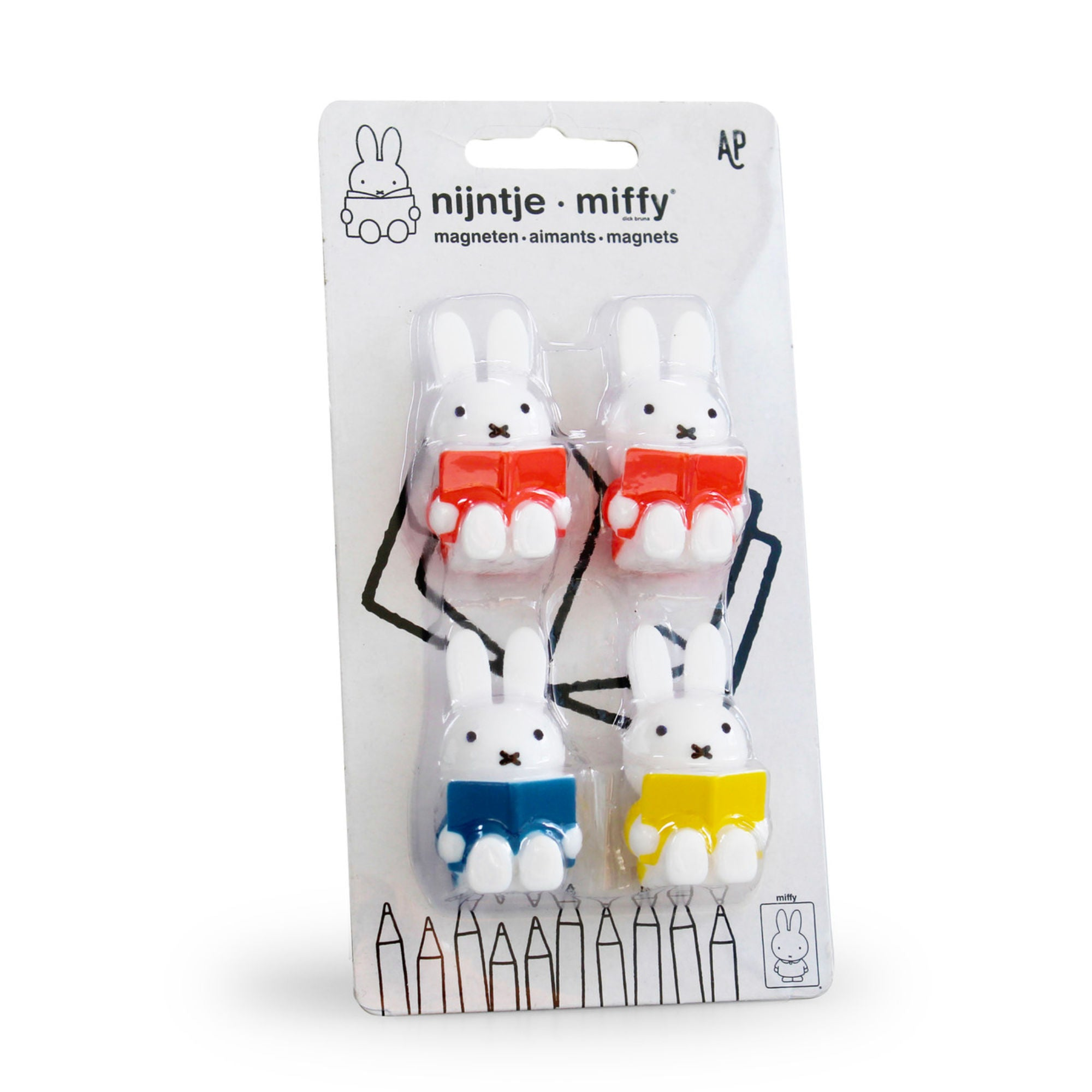 Miffy Reading Magnets Set of 4
