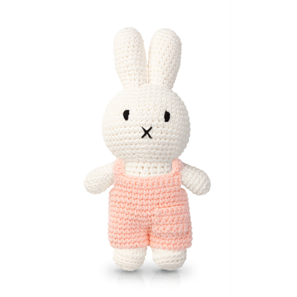 Just Dutch Miffy & her Pastel pink overall