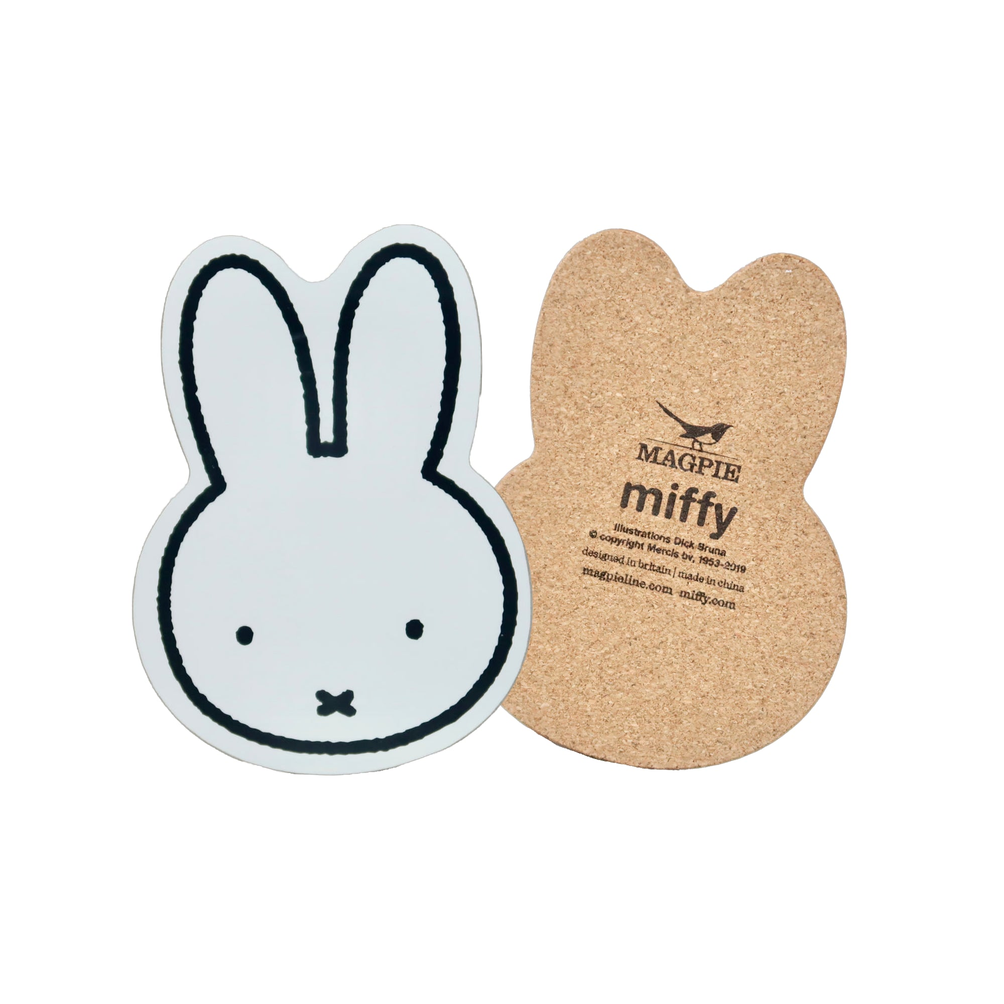 Miffy Face Coaster 4-Pack