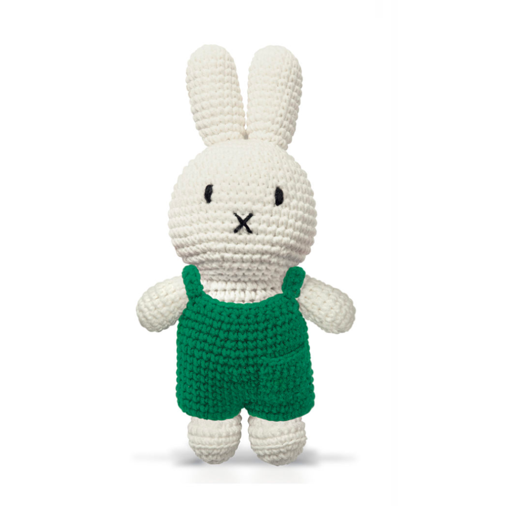 Just Dutch Miffy & her green overall
