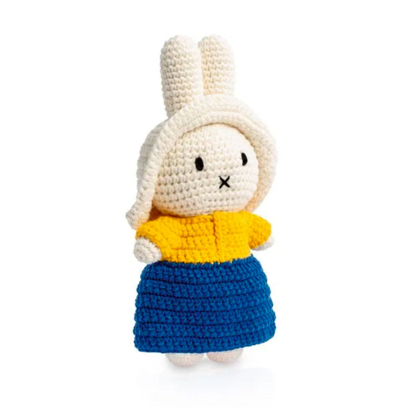 Just Dutch handmade doll, Miffy and her milkmaid outfit