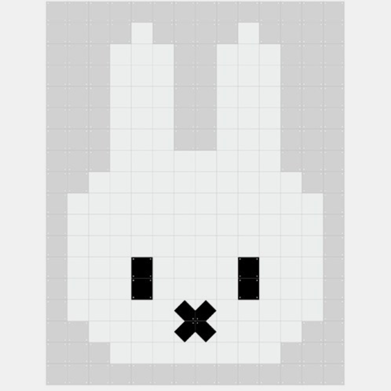 IXXI Miffy Pixel . Double Sided