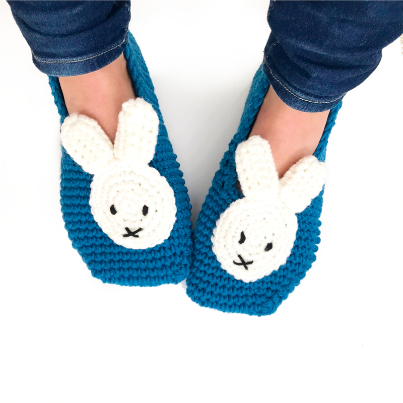 Stitch & Story UK Miffy Slippers Crochet Kit