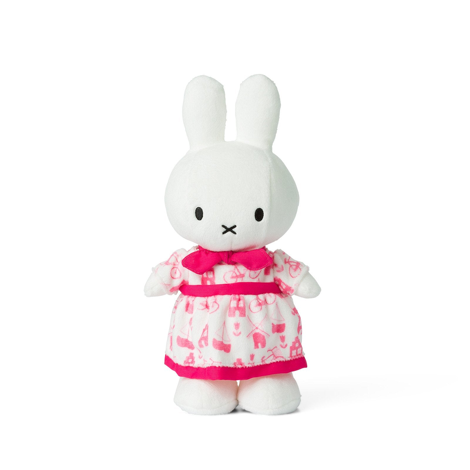 Miffy Soft Toy 34cm , pink dress