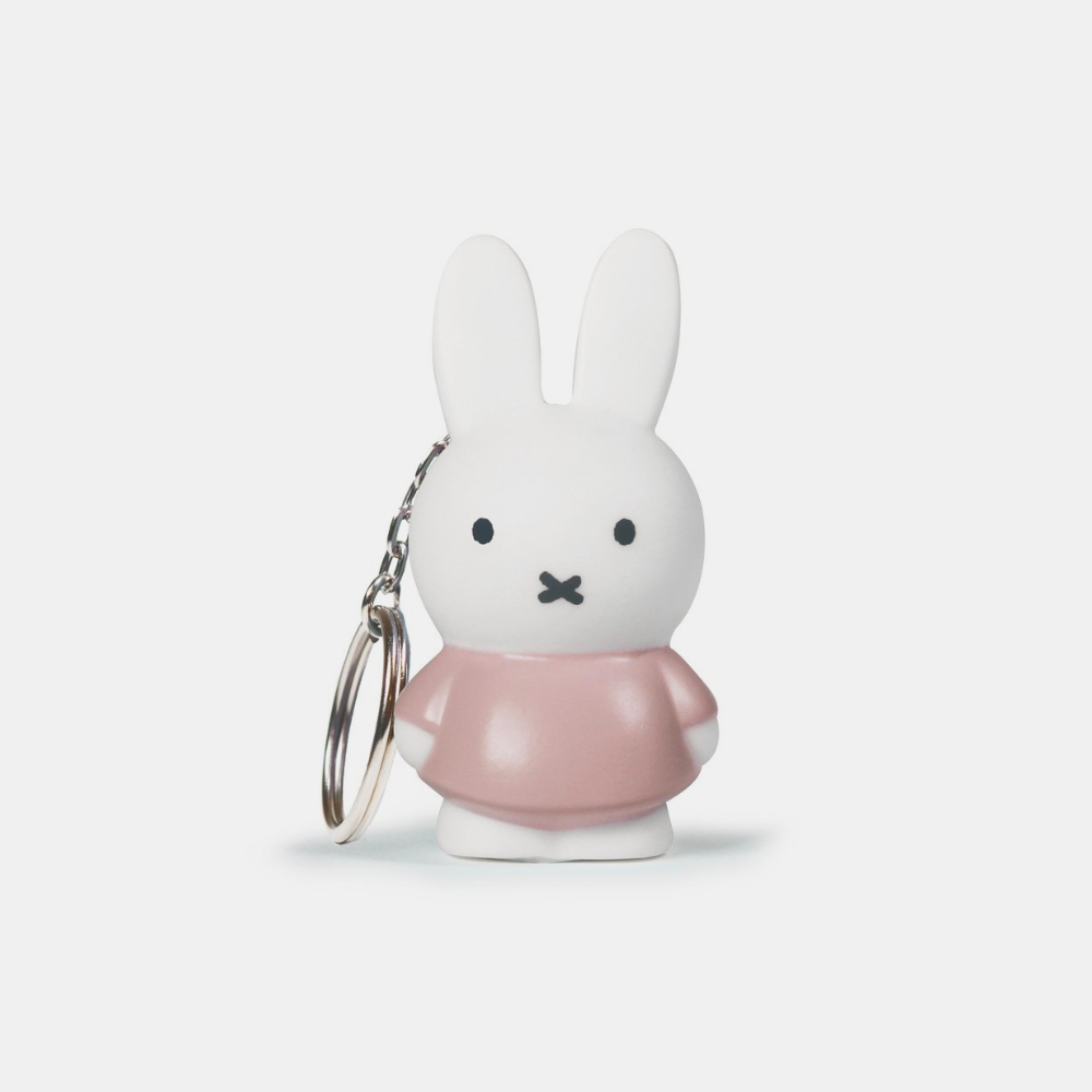 Miffy Keyring . Powder Pink