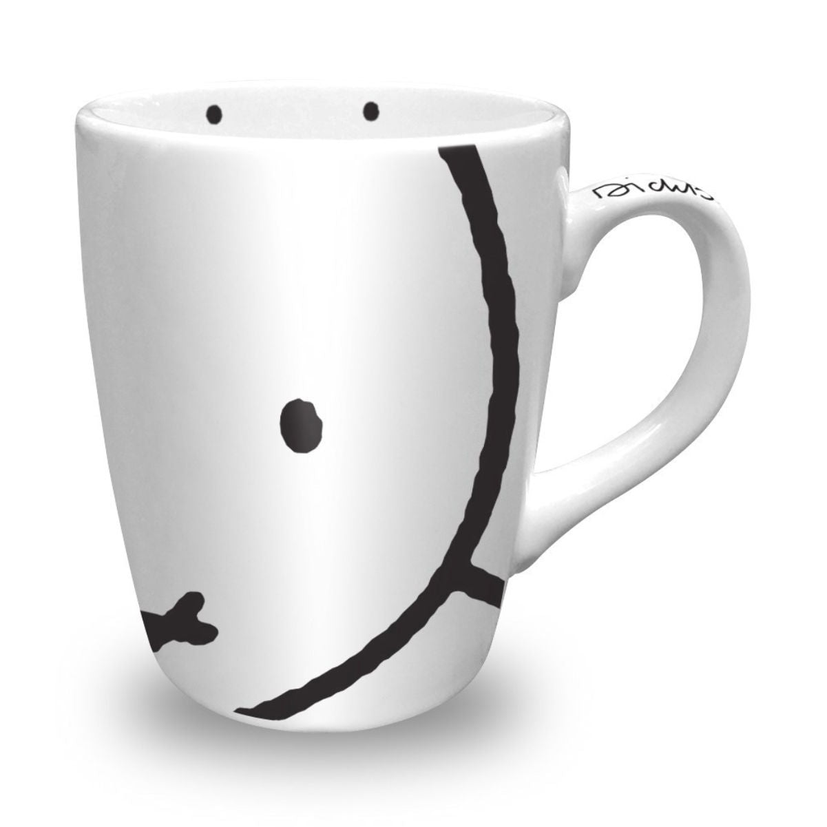 Miffy face mug, white