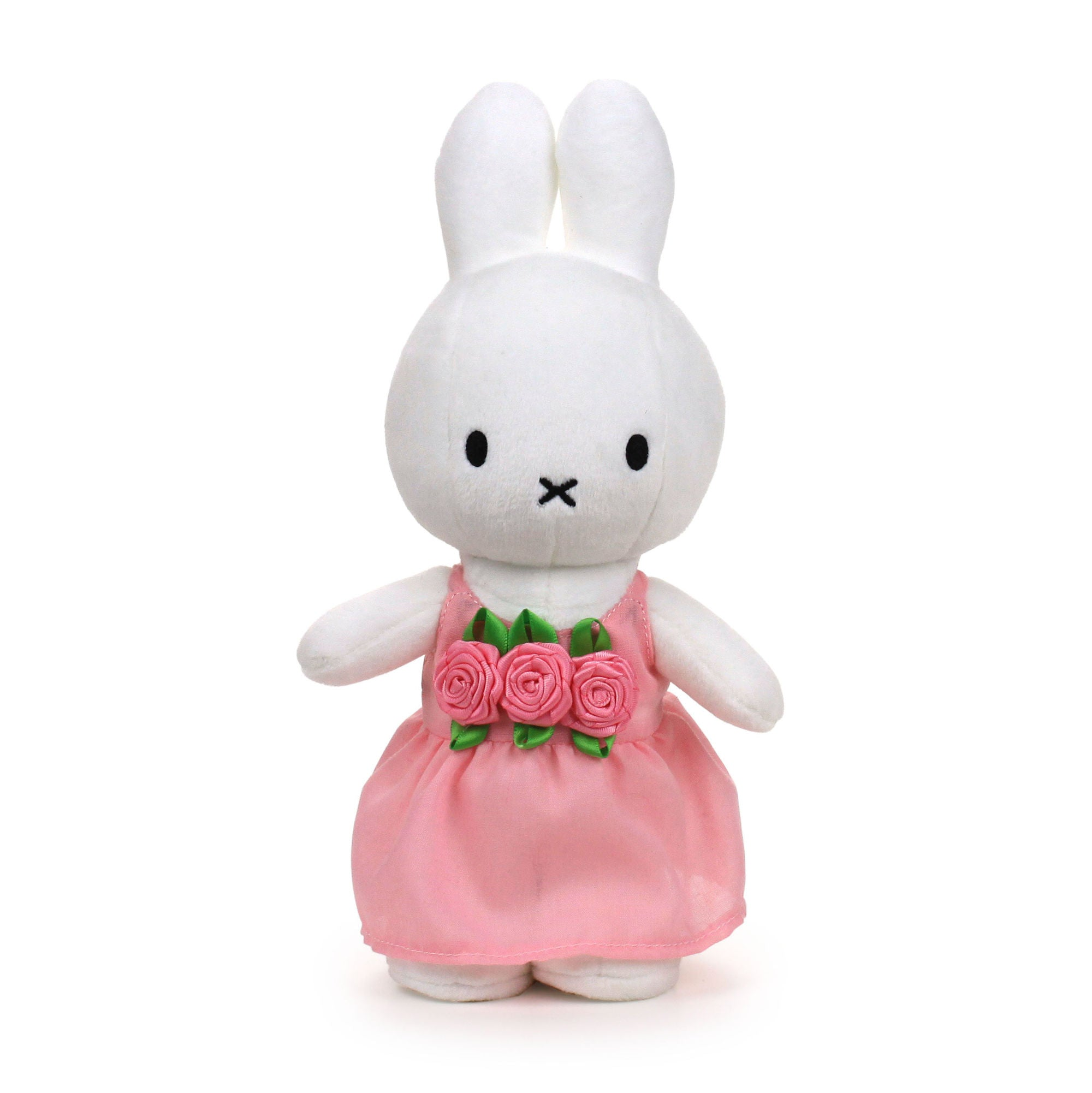 Miffy Soft Toy 24cm , pink roses
