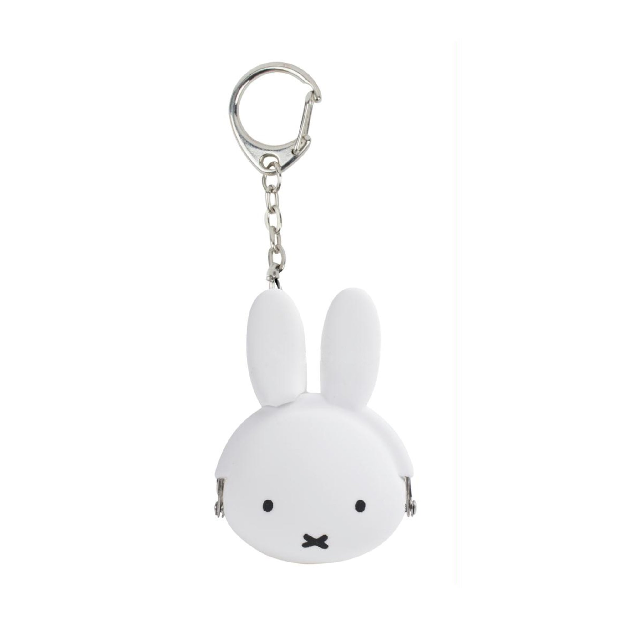 Pochibi Miffy Mimi Pochi Baby key case, white