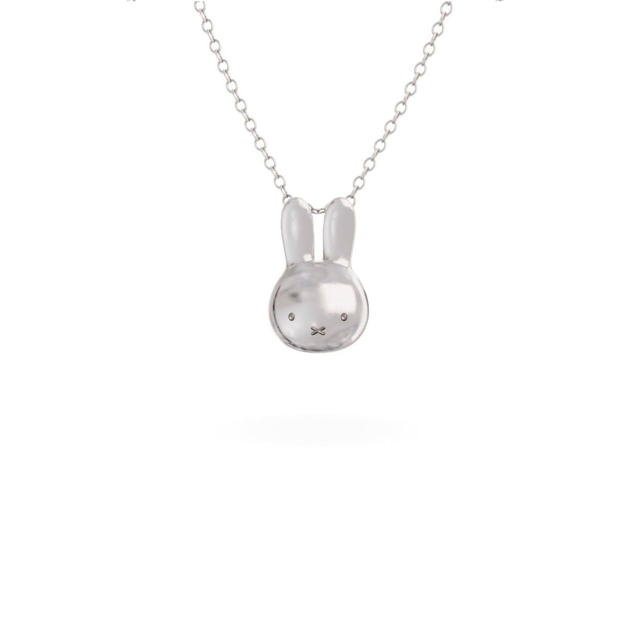 Miffy Sterling Silver Necklace Set , Mini Head