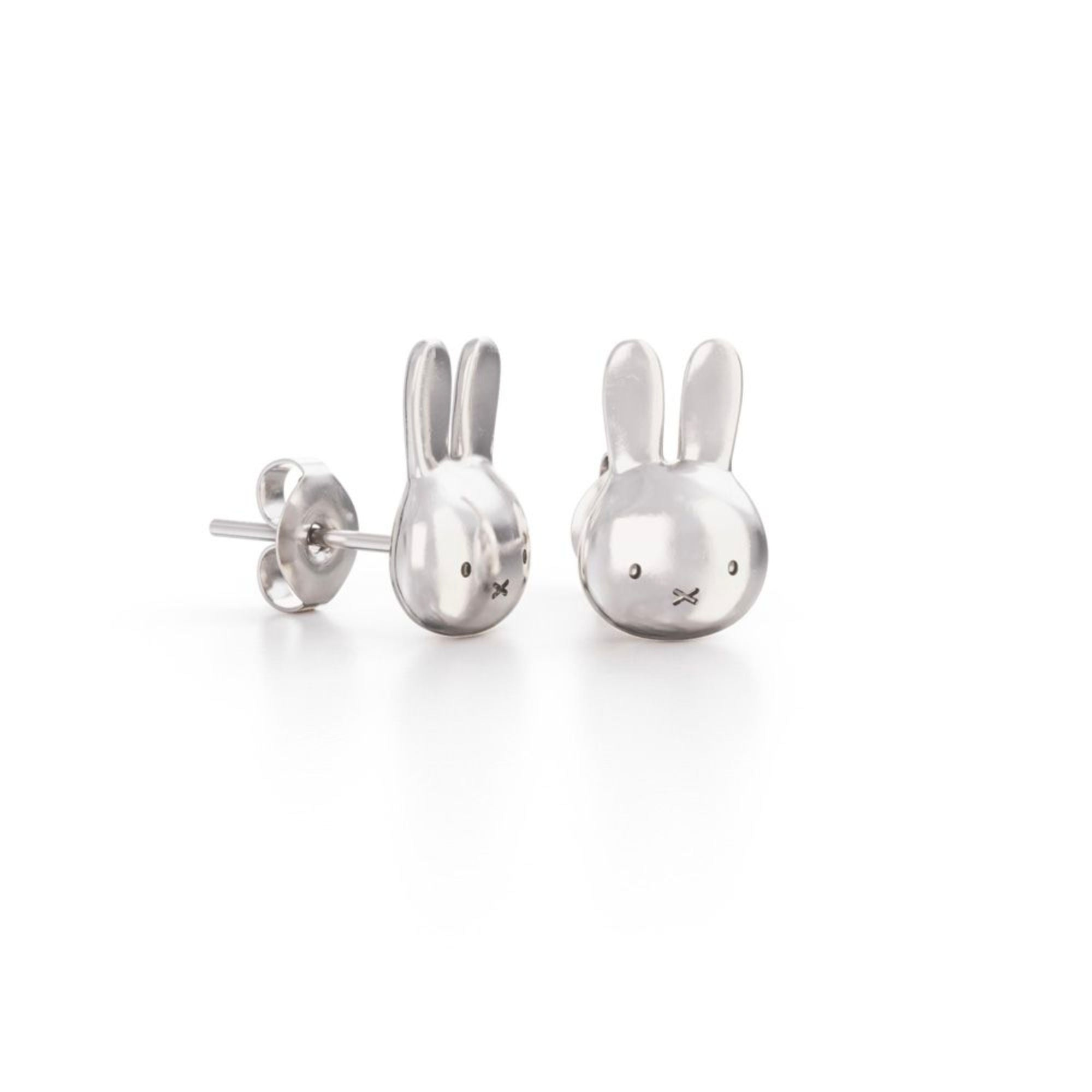 Miffy Sterling Silver Studs , Mini Head