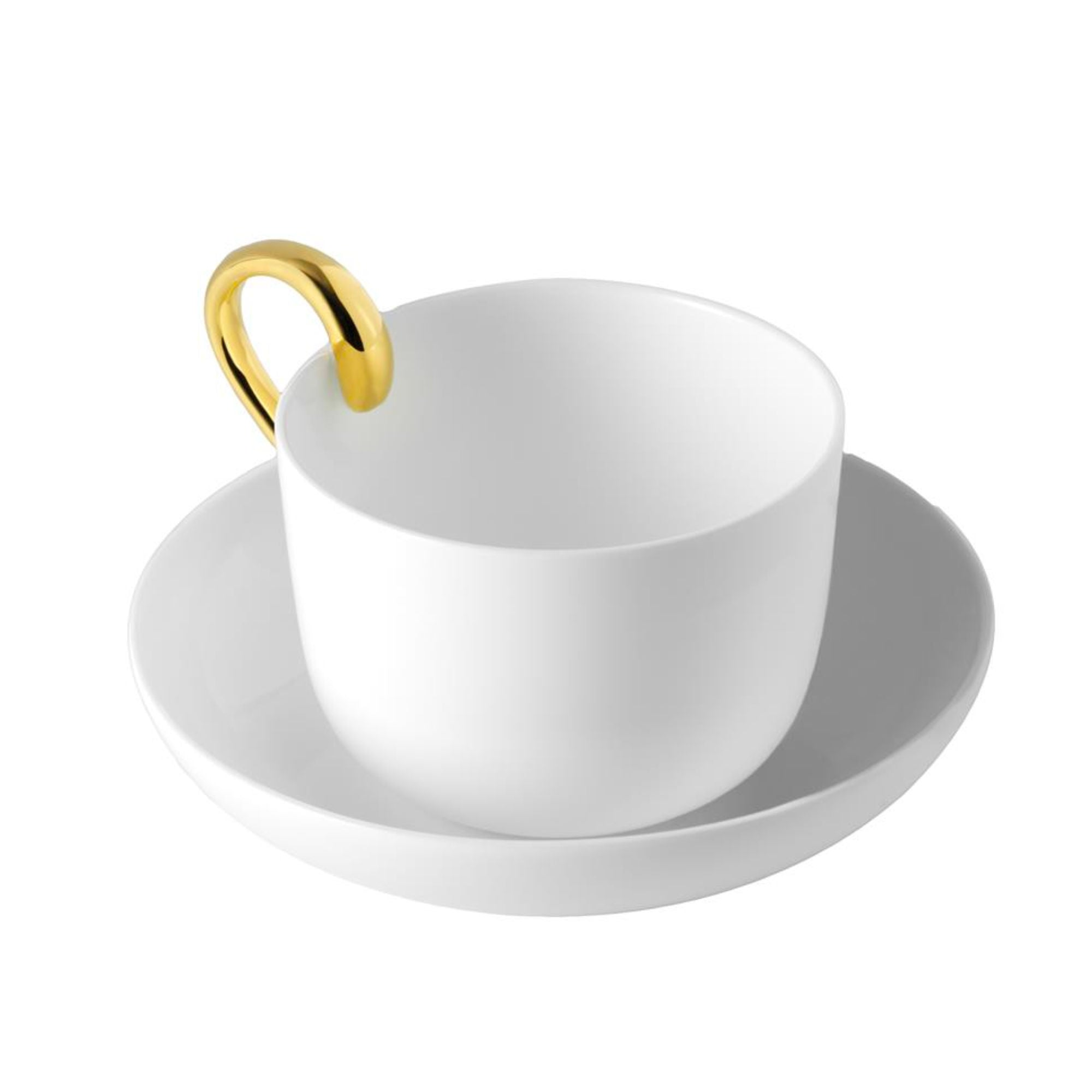 Design house Stockholm Mine Tea Cup , White - Gold