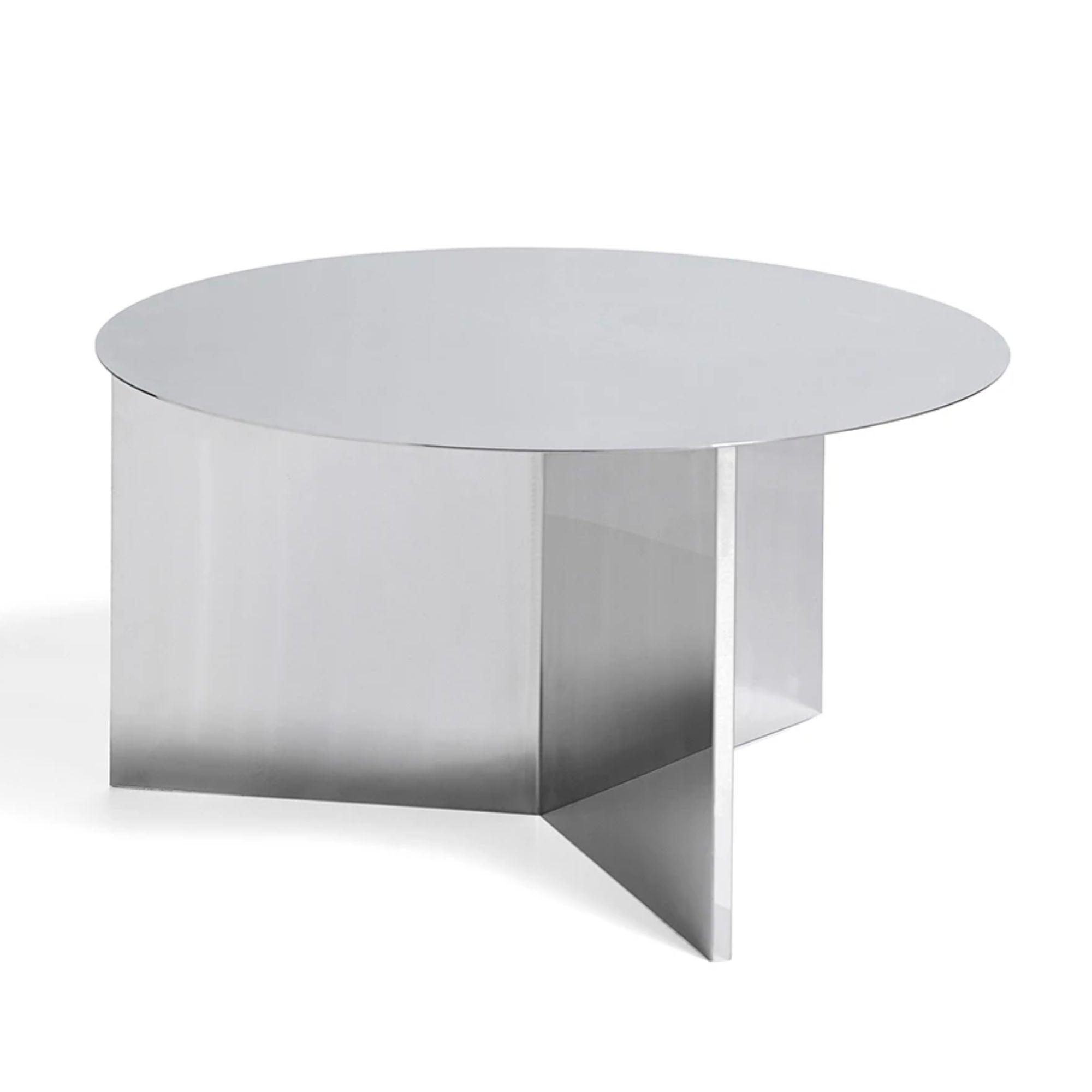 Hay Slit Coffee Table Round XL Φ65 , Mirror