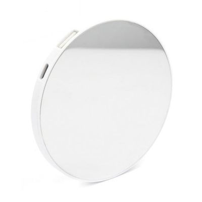 Kikkerland Mirror 2in1 Compact Mirror and Power Bank