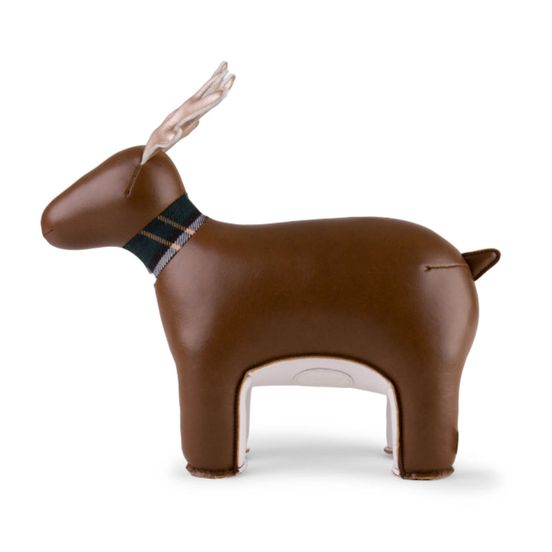 Zuny Reindeer Miyo bookend, brown - gold