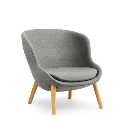 Normann Copenhagen Hyg lounge chair, low, oak