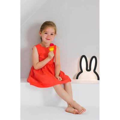 Miffy Head Shape Mood Light Small , Black