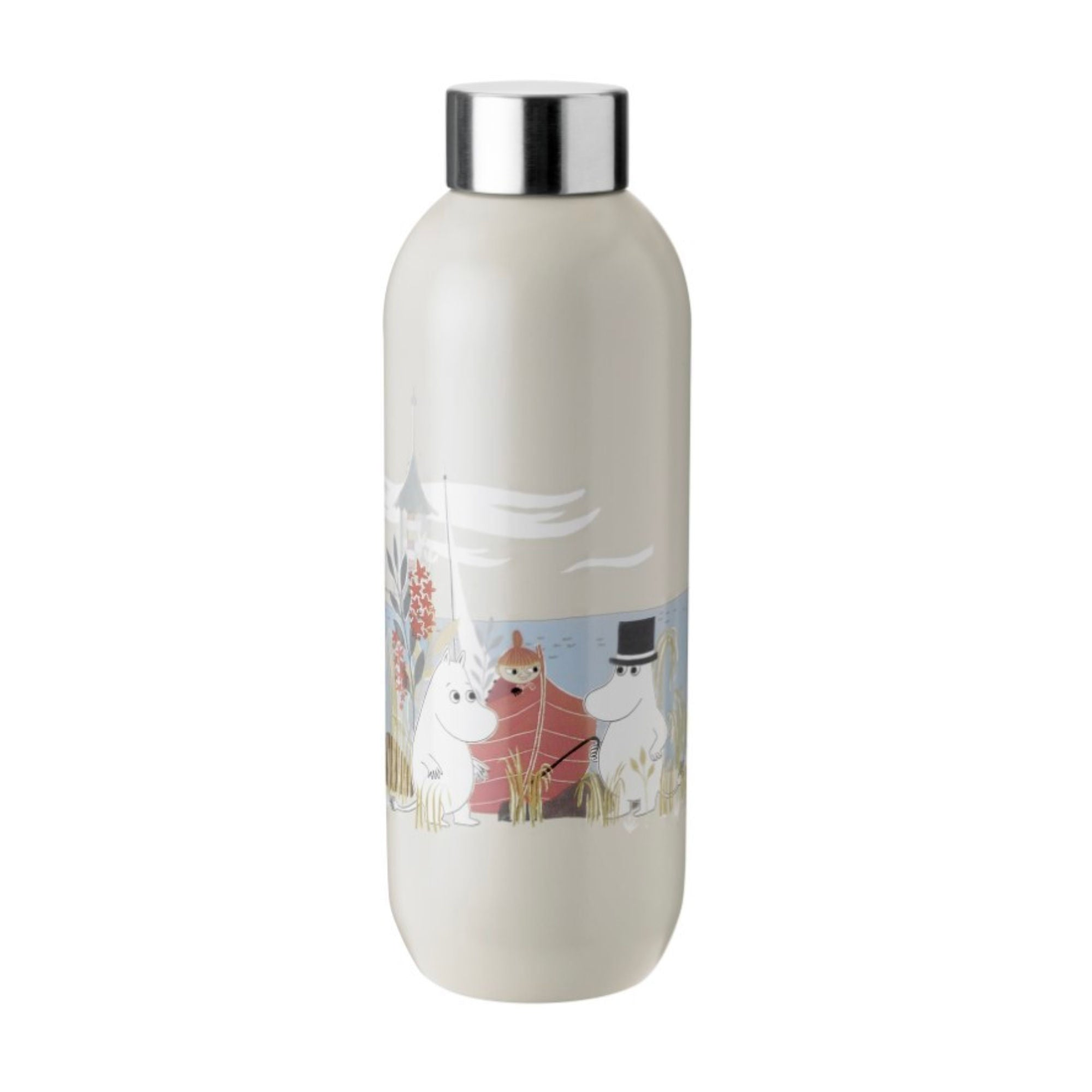 Stelton Keep Cool Drinking Bottle Moomin 750ml , Sand
