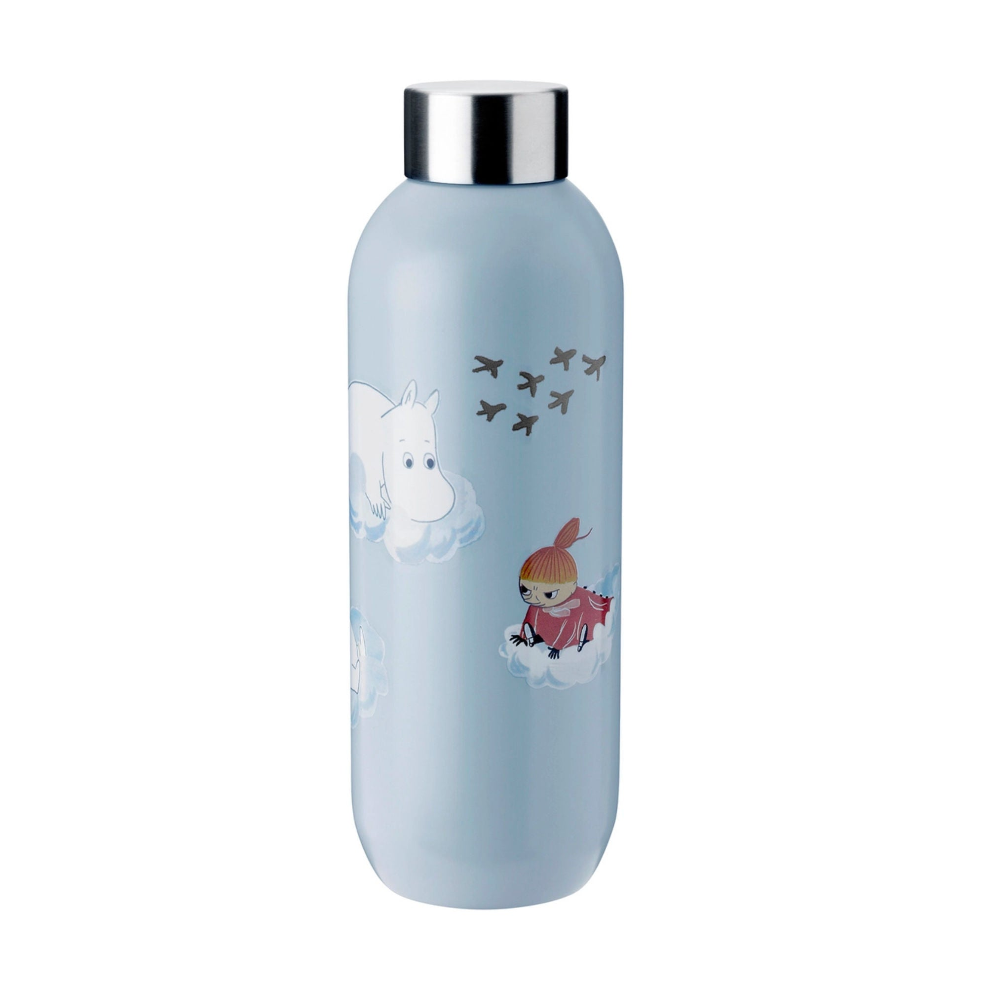 Stelton Keep Cool Drinking Bottle Moomin 750ml , Cloud