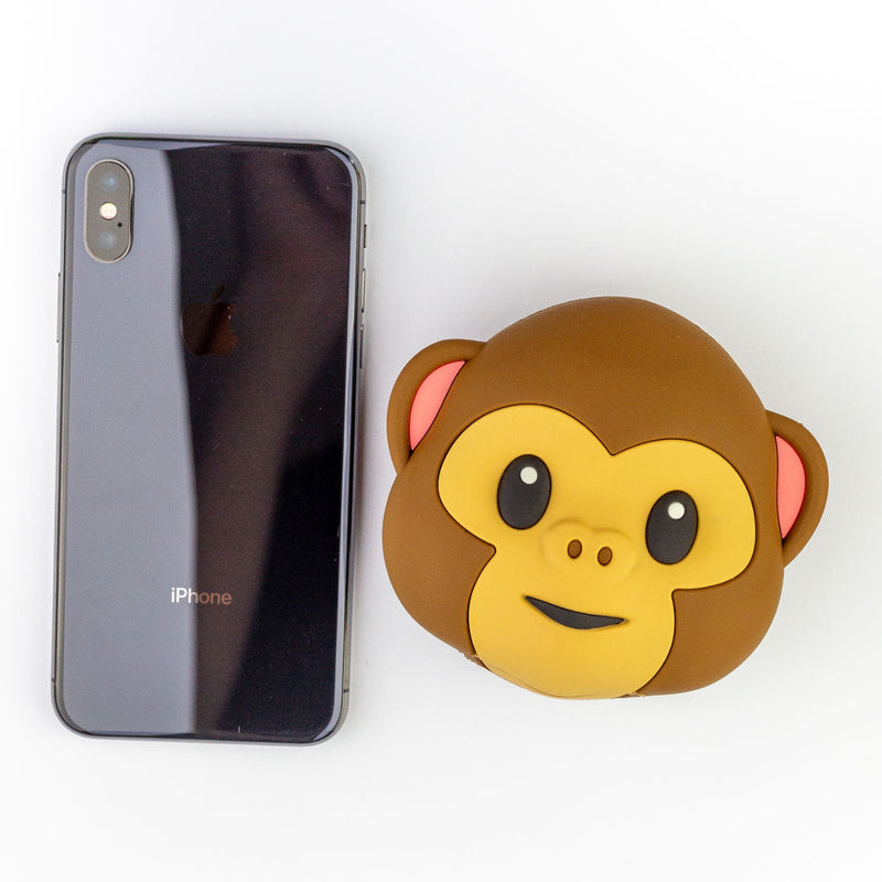 Moji Emoji power bank 5200mAh, monkey
