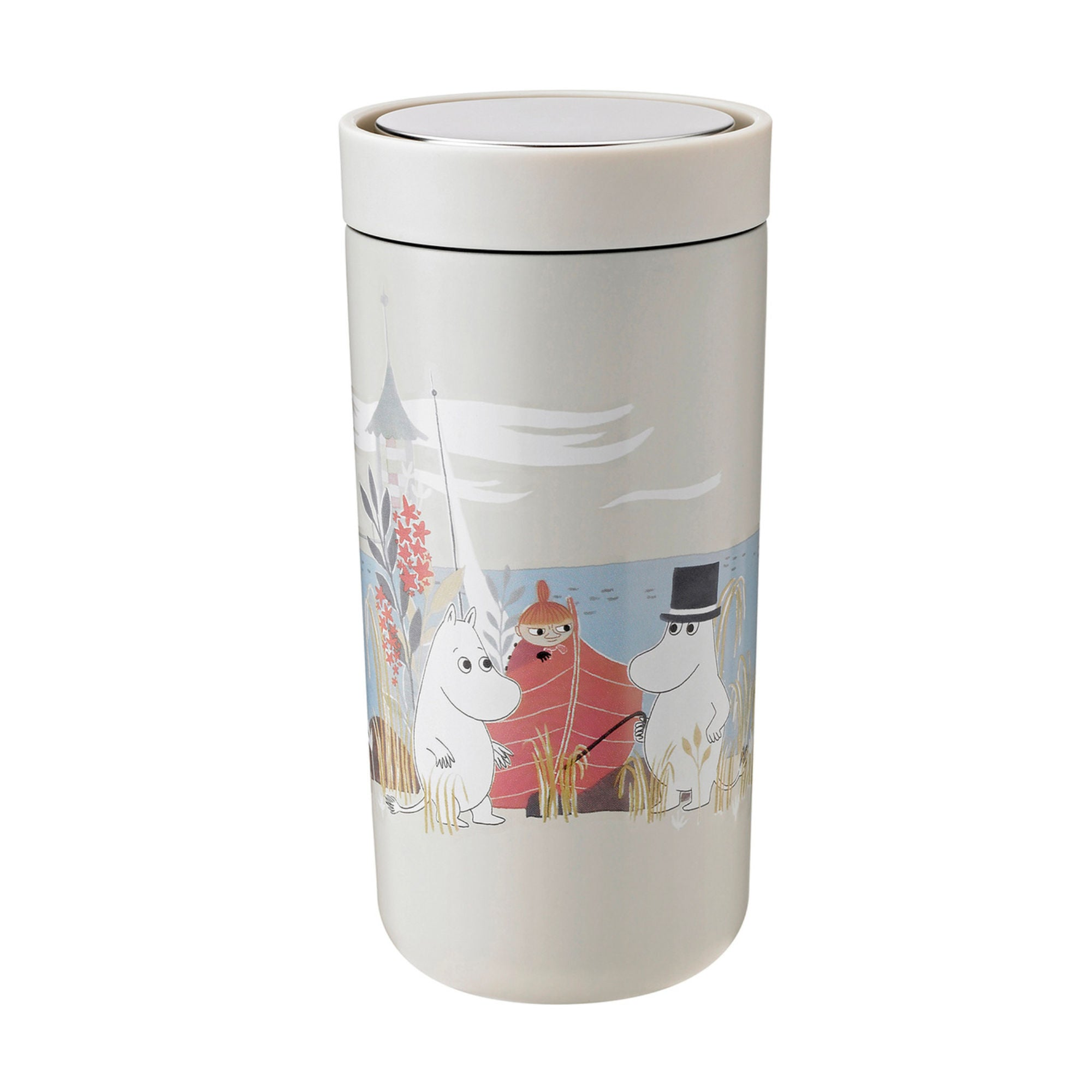 Stelton To Go Click Thermo Cup Moomin 400ml , Sand