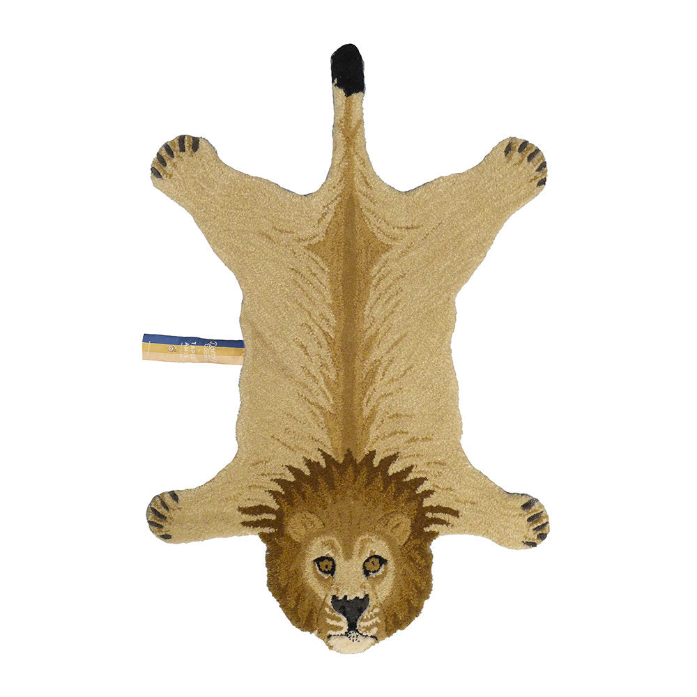Doing Goods Lion Rug 100x64cm