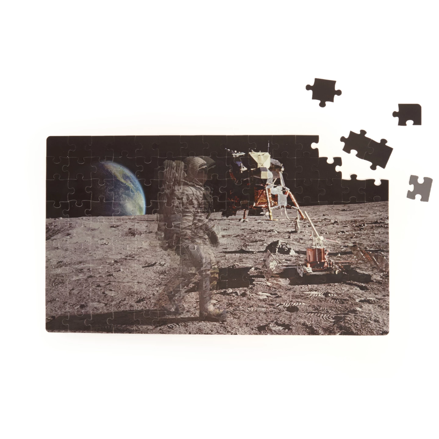 Kikkerland Moon Walker Motion Puzzle 135pcs