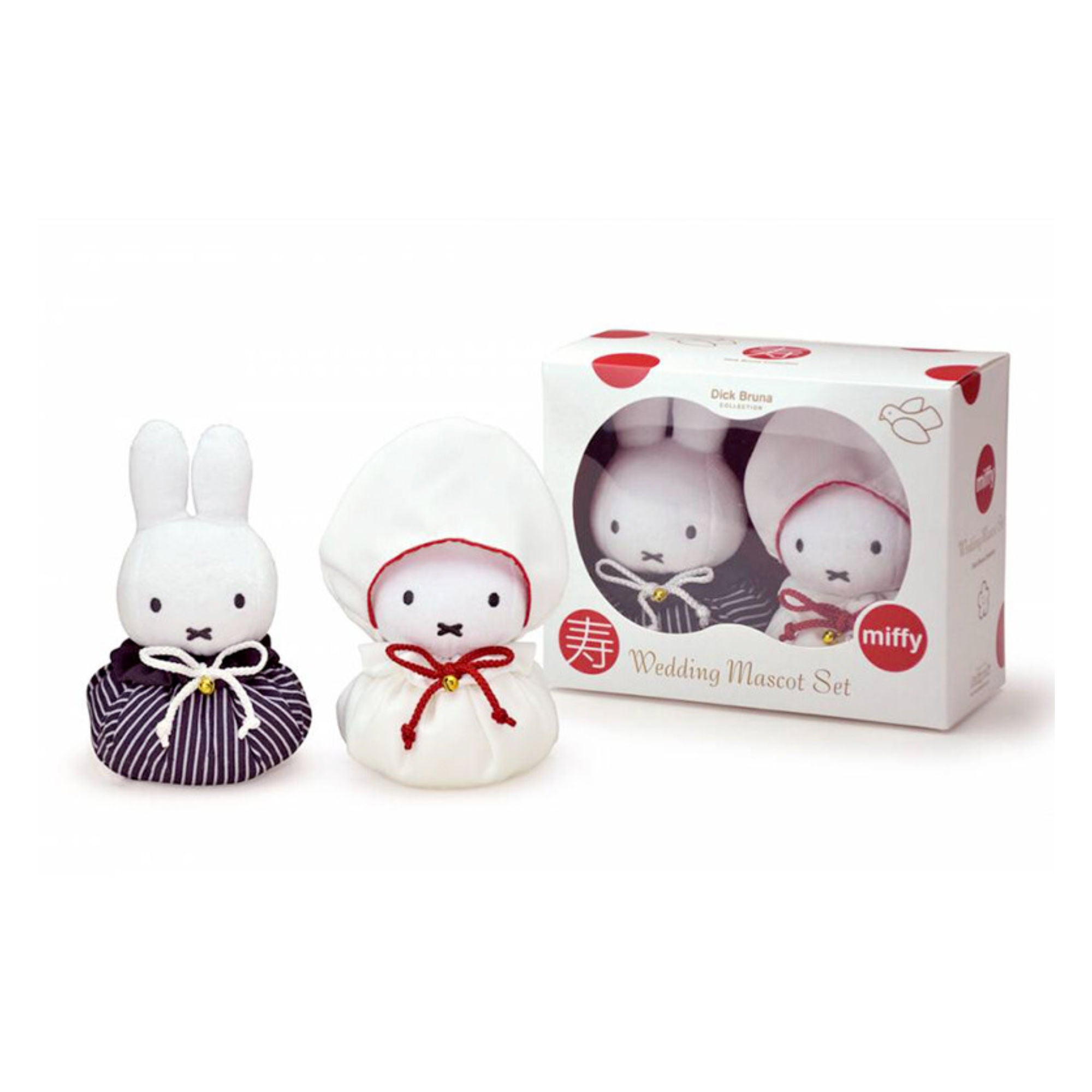 Miffy Wedding Mascot Set , Japanese Clothing