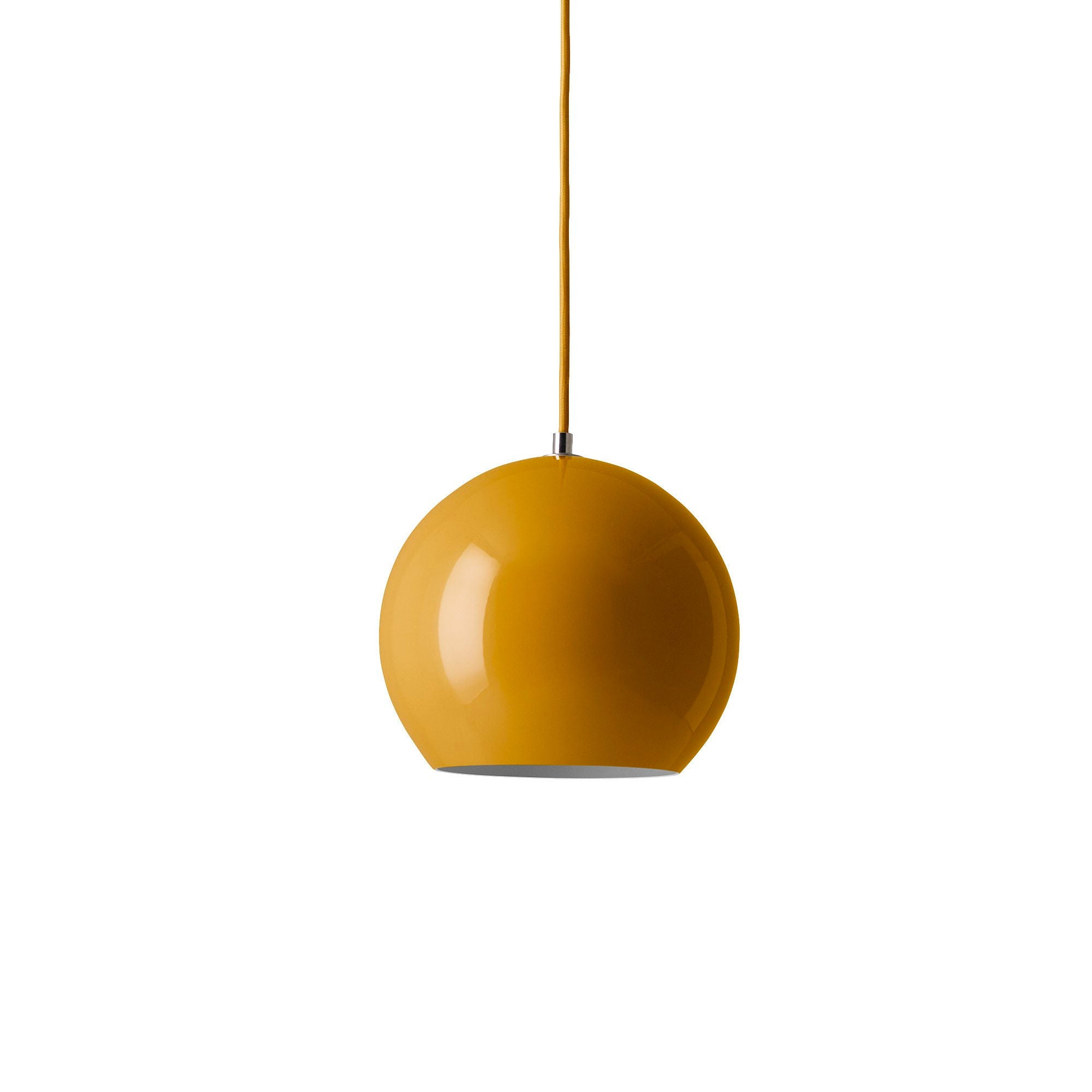 &Tradition VP6 Topan pendant lamp, mustard