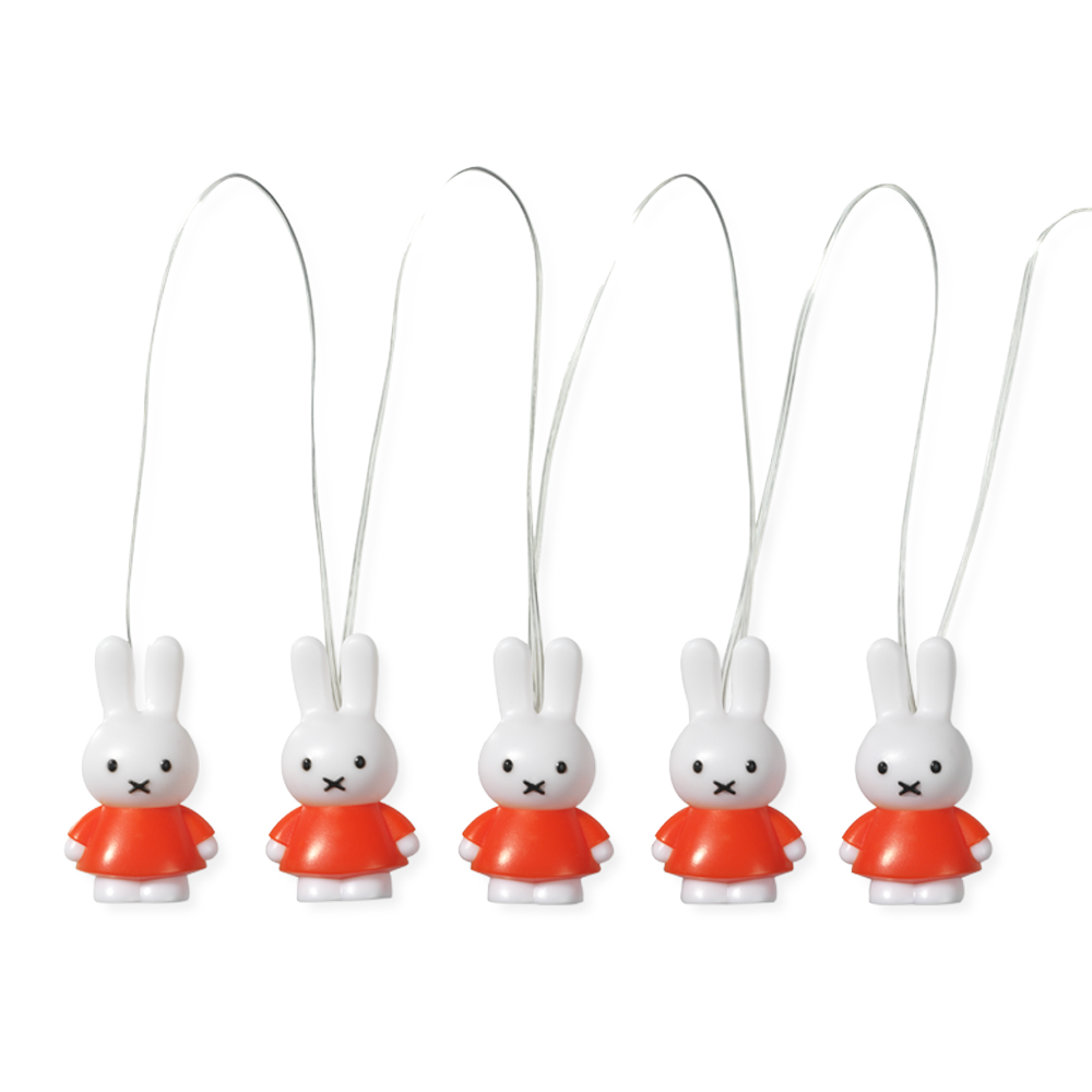 Miffy 3D Stringlight , Orange