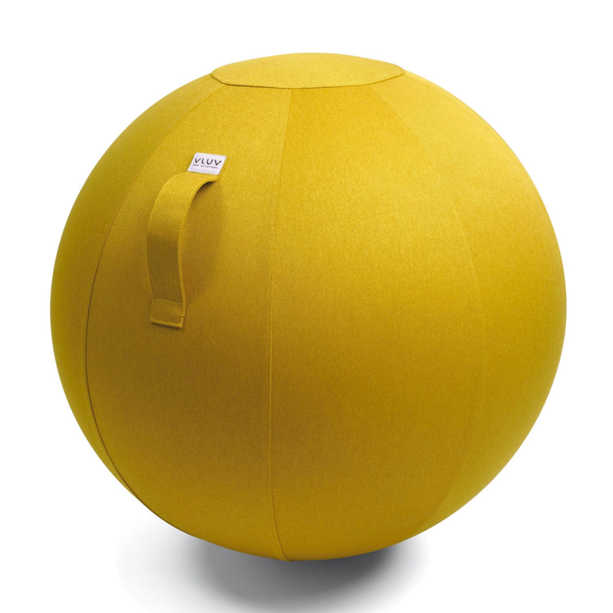 VLUV LEIV active sitting & yoga ball Ø55cm, mustard