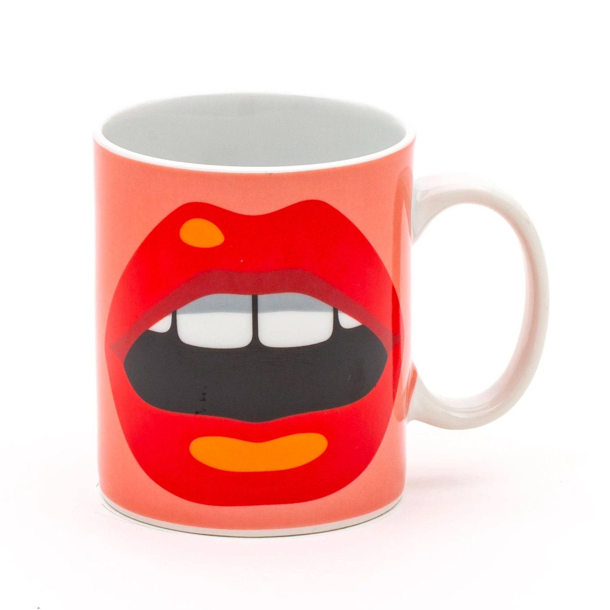 Seletti Blow by Studio Job Mug, mouth