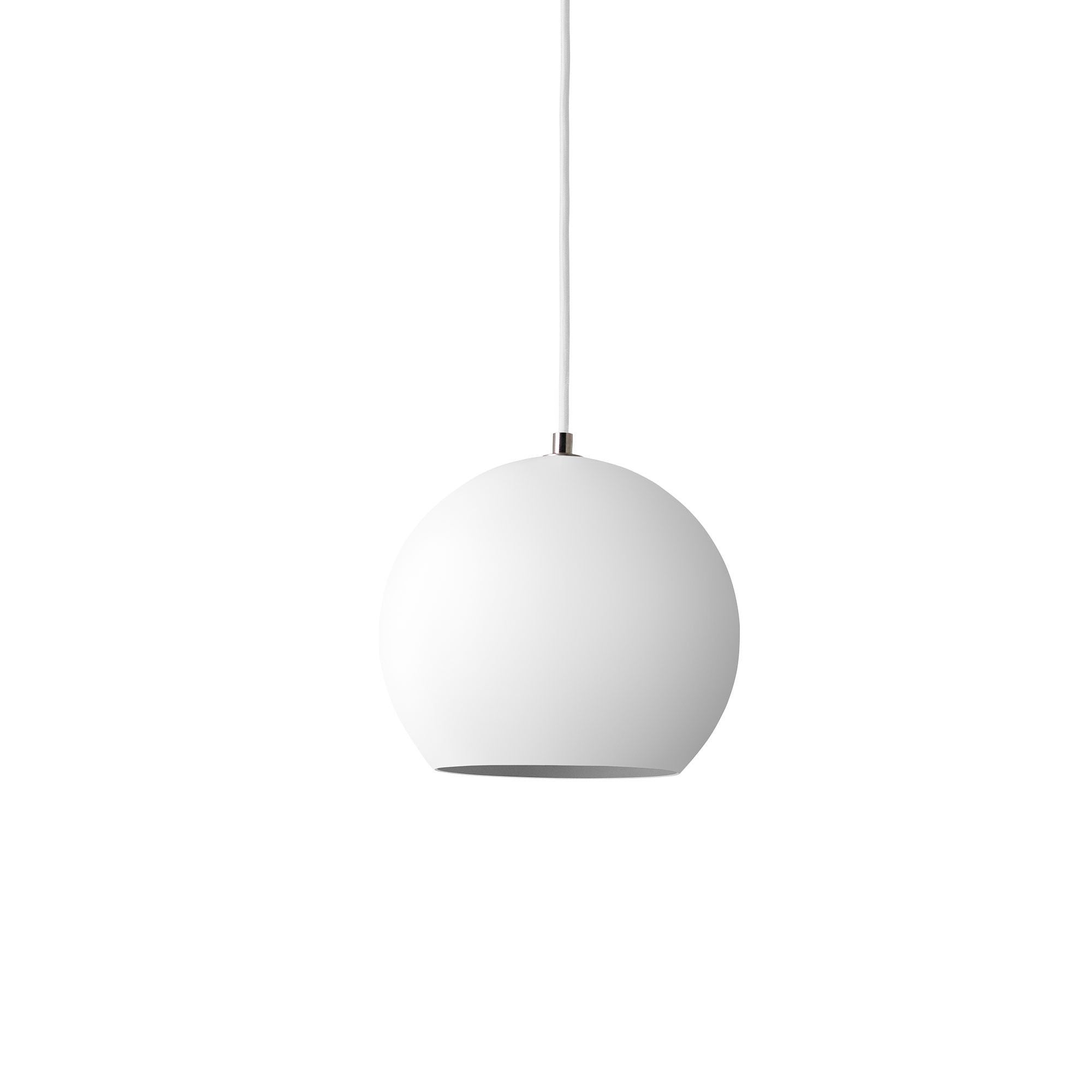 &Tradition VP6 Topan pendant lamp, matt white