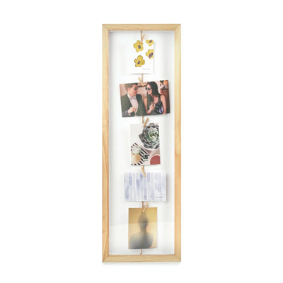 Umbra Clothesline Flip photo frame, natural