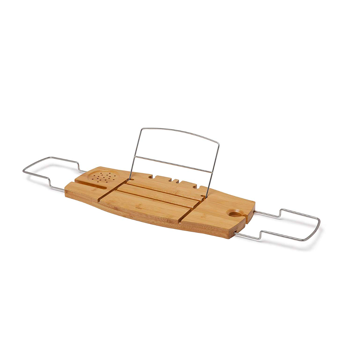 Umbra Aquala bathtub caddy, natural