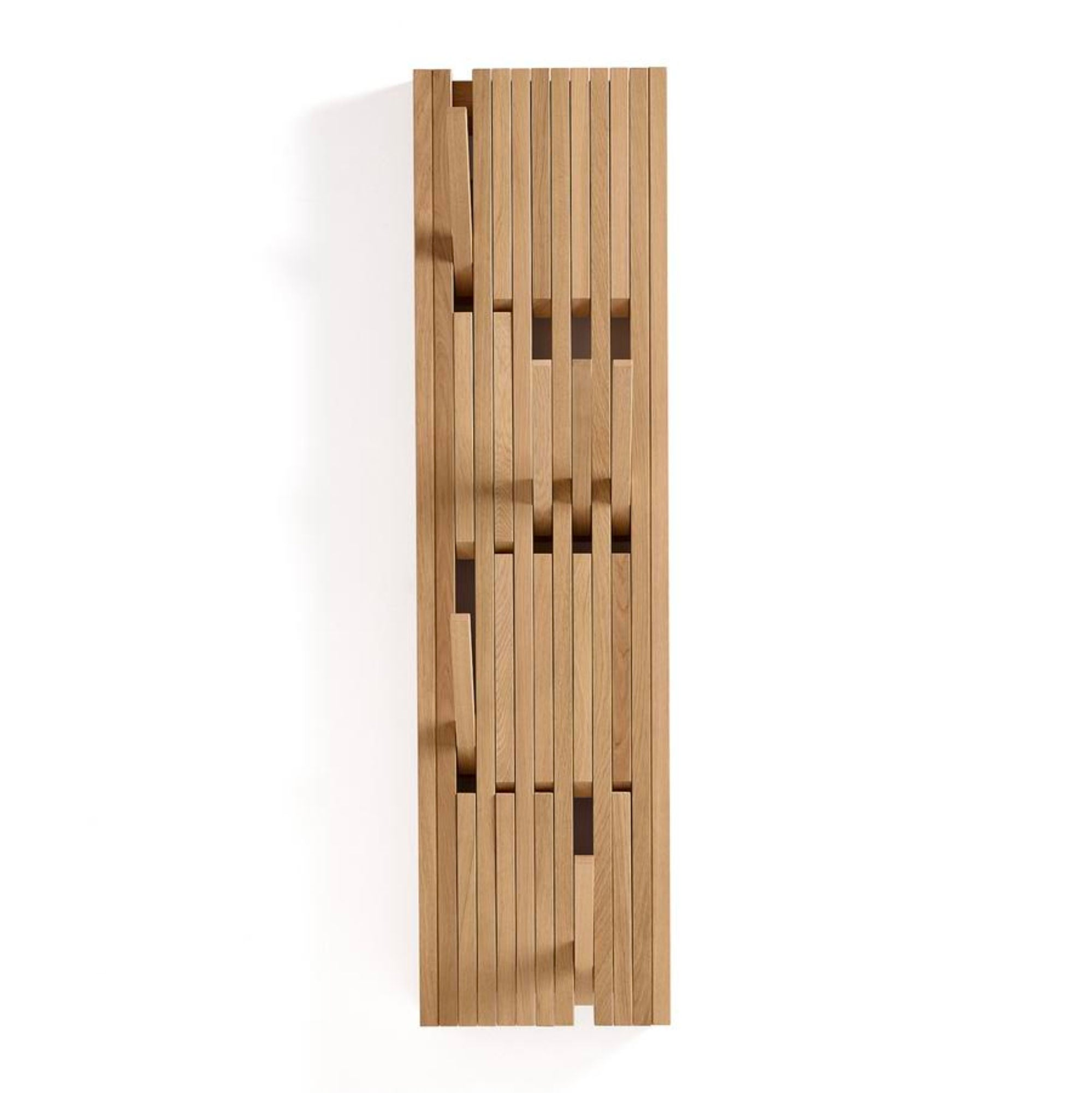 Peruse Piano hanger panel, Small - Oak natural oiled